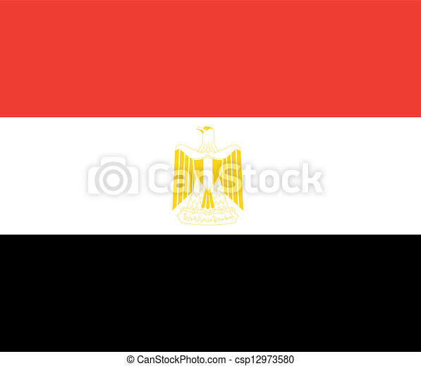egypt flag - csp12973580