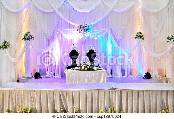 Wedding Decoration Ideas Purple Stage Wedding Stage Decoration Ideas