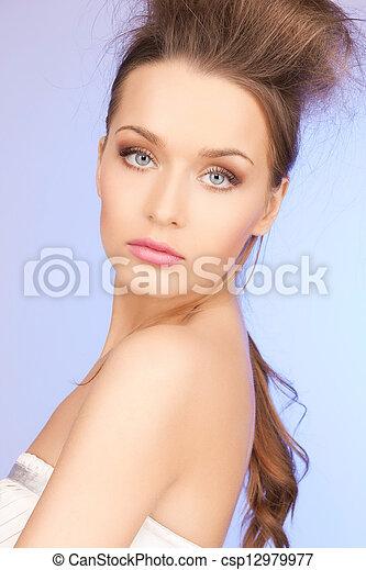 beautiful woman - csp12979977