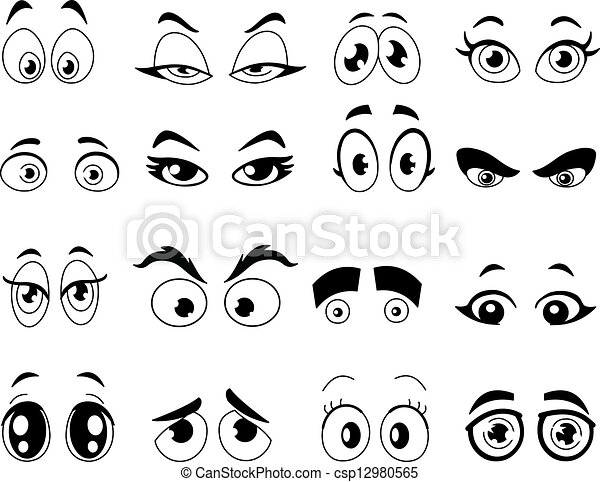 Contorneado Caricatura Ojos 12980565 as well How To Draw Manga Eyes also Simple Drawings Of People 1165 furthermore Ff in addition Katze Selber Malen. on scary faces people
