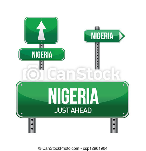 Road Signs in Nigeria Nigeria Country Road Sign