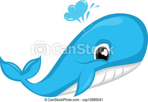 Blue Whale - csp12985041