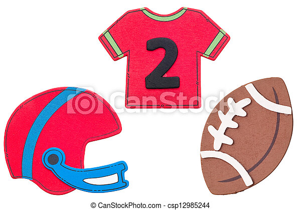Stock Photo of Football jersey on white - 3d Football Jersey ...