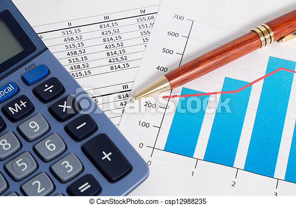 Business accounting and finance - csp12988235