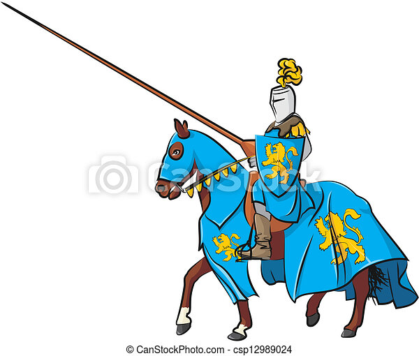 Joust Clipart and Stock Illustrations. 260 Joust vector EPS ...