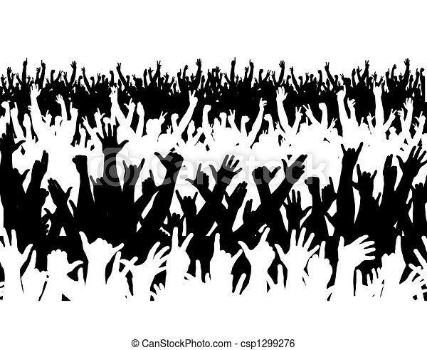 Concert crowd - csp1299276