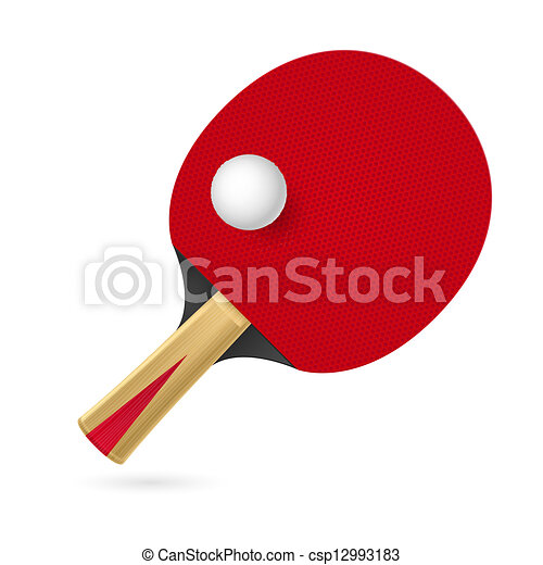 Ping pong table background - Vector Of Racket For Playing Table Tennis Illustration On