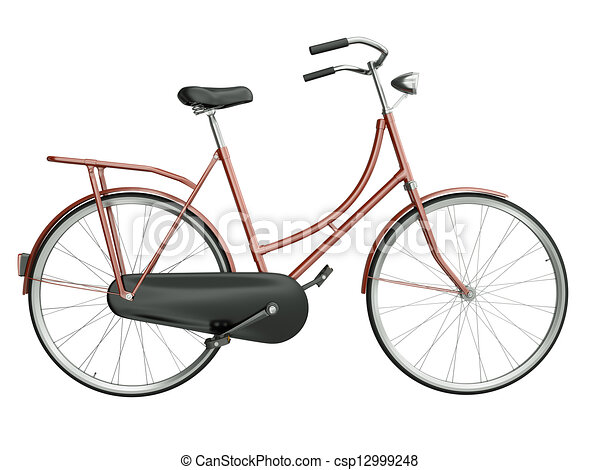 Red bicycle - csp12999248