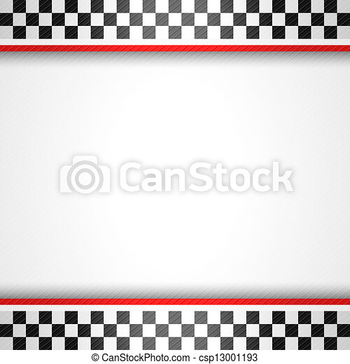 Racing square background - csp13001193