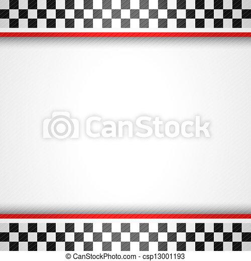Racing square background - csp13001193