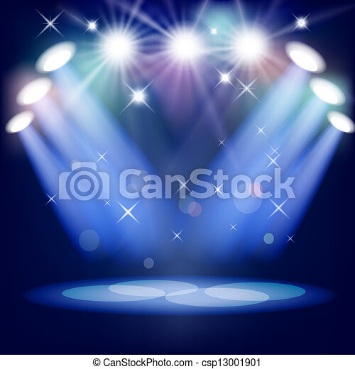 Stage light Vector Clipart Royalty Free. 6,383 Stage light clip ...