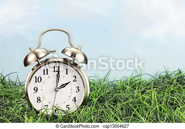 Time Change - csp13004627