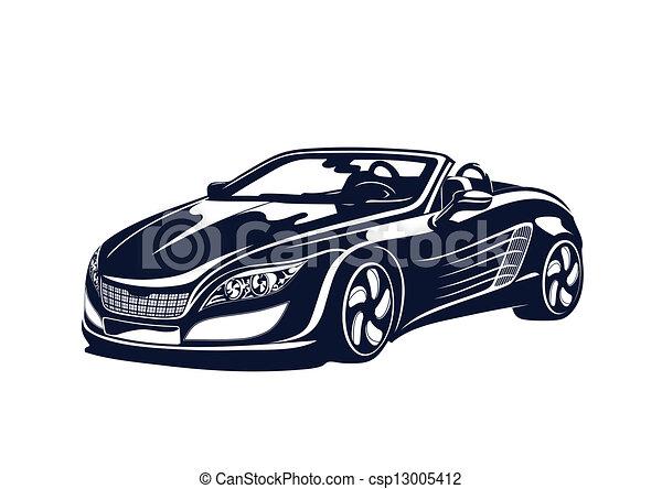 Sport automobile - csp13005412
