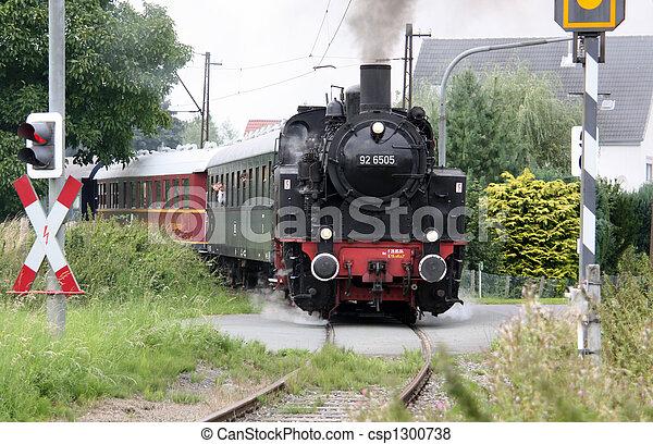 Steam locomotive - csp1300738