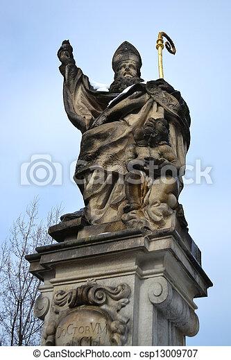 Religion Statue - csp13009707
