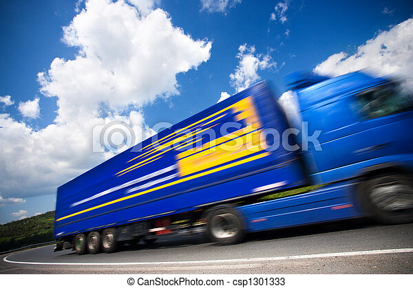 fast moving truck - csp1301333