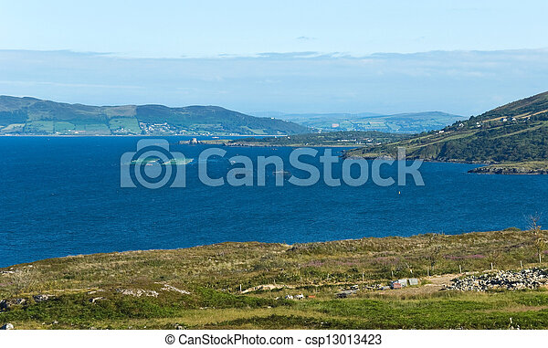 Stock photo of donegal fish farming salmon and oyster for Fish farm near me