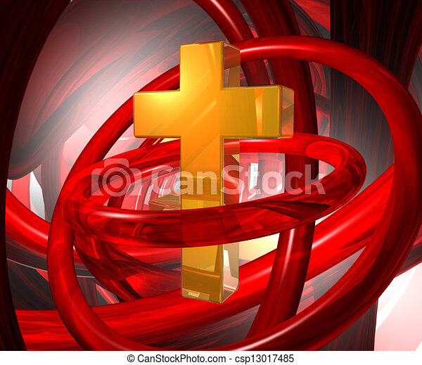abstract religion - csp13017485