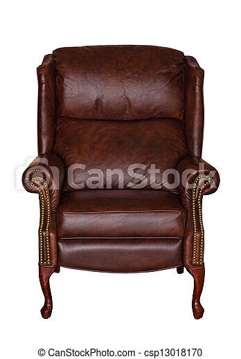 Bilder von brauner buchausleihe leder stuhl for Brauner stuhl