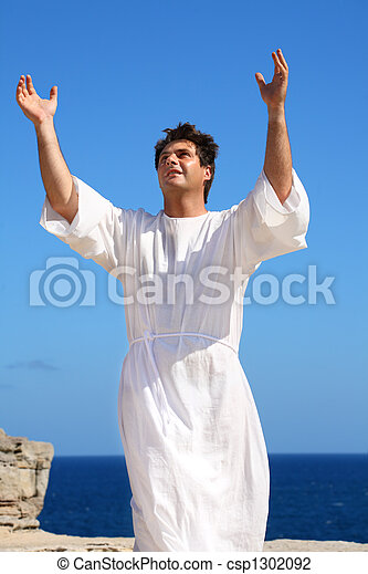 Praising God - csp1302092