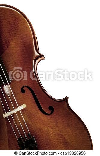 Cello over /White - csp13020956