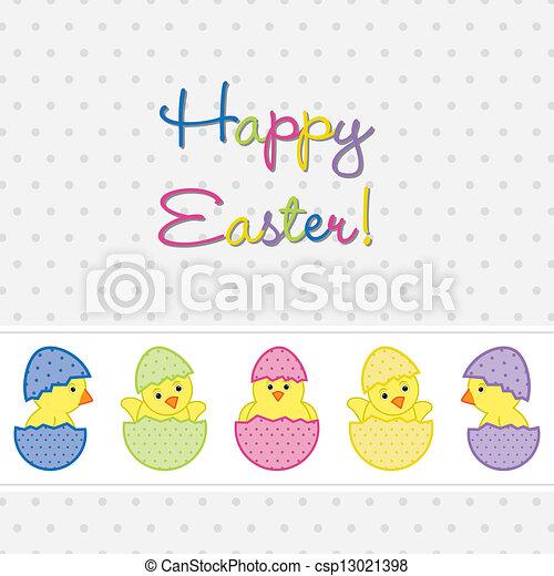 Happy Easter! - csp13021398