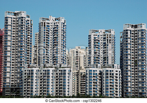 Residential buildings in China - csp1302246