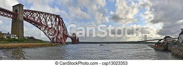 Forth Bridges - csp13023353