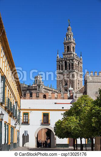 Landmarks of Seville - csp13025176