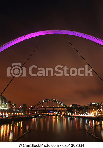 Newcastle bridges - csp1302634
