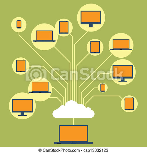 Cloud Clip Art Sharing