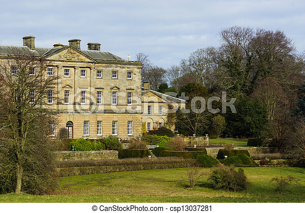 English Stately Home - csp13037281