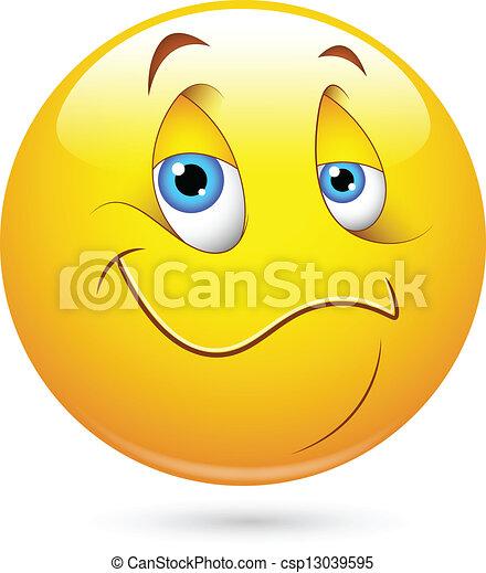 foto de EPS Vectors of Satisfied Smiley Face Creative Abstract Conceptual Design csp13039595
