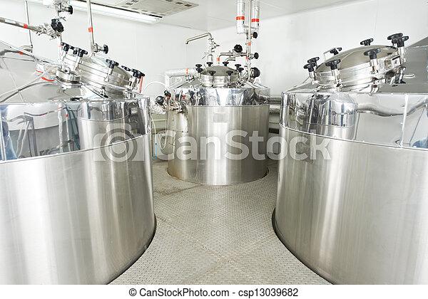 Vatten, farmaceutisk, behandling,  System - csp13039682