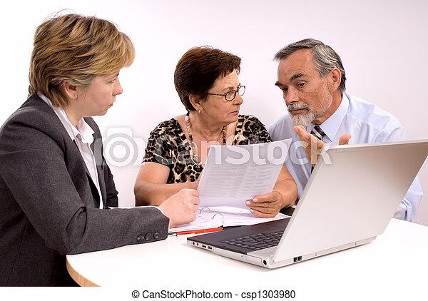 financial planner  - csp1303980