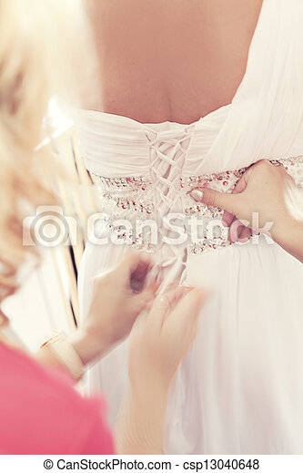 Dressing for the wedding