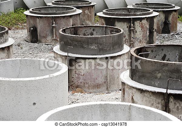Concrete tubes - csp13041978