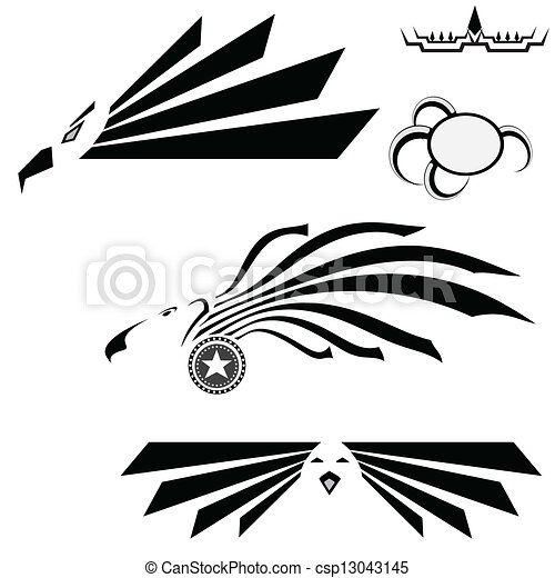 Eagle Wings Drawings Abstract Eagle Wings