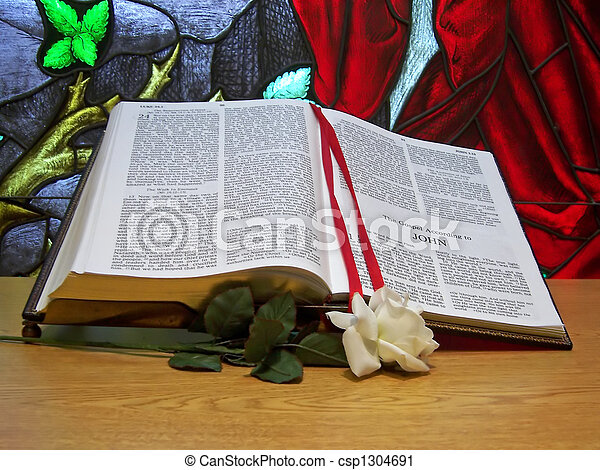 Altar Bible - csp1304691