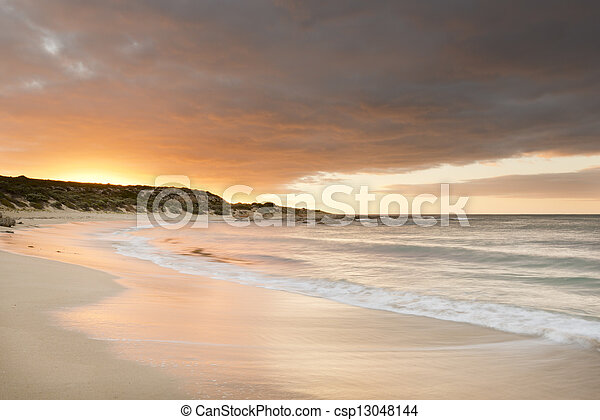 Sunset Beach - csp13048144