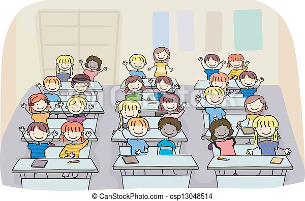 Image result for clipart images kids classroom