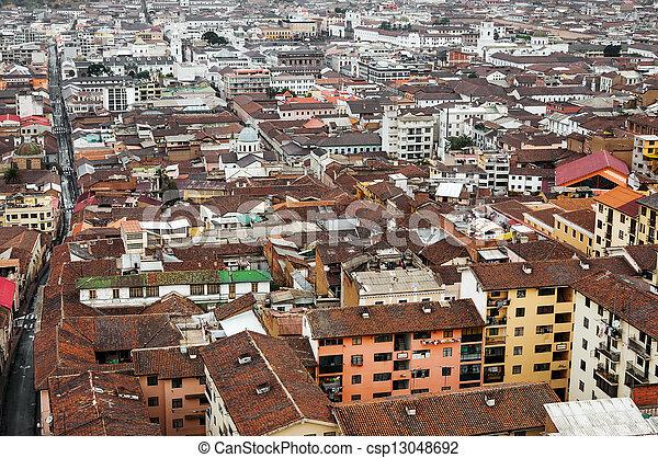 Historic Center of Quito, Ecuador - csp13048692