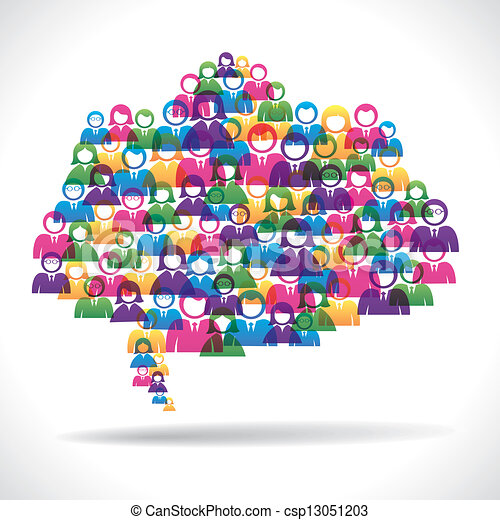 Vektor online marketing strategie begriff stock illustration