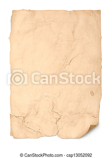 Antique Paper - csp13052092