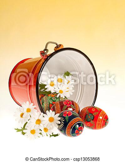 Easter bucket - csp13053868