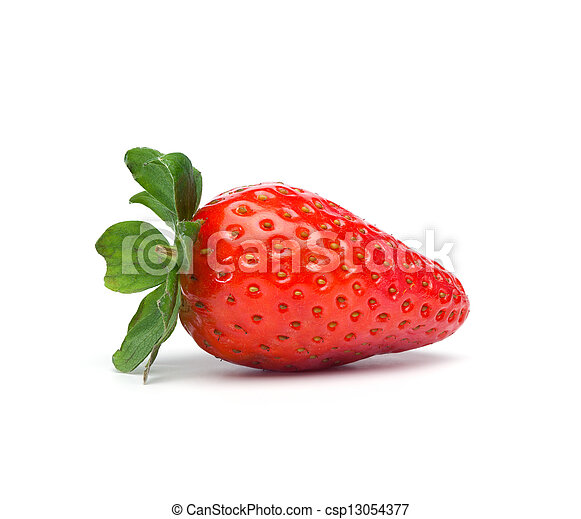 Red Strawberry Fruit isolated - csp13054377