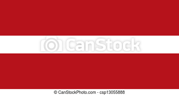 Latvia flag - csp13055888
