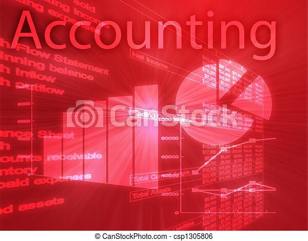 Accounting illustration - csp1305806