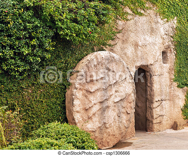Entrance to the Tomb - csp1306666