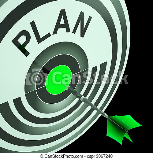 Plan Target Means Planning, Missions And Objectives - csp13067240